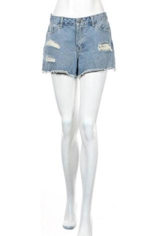 Дамски къс панталон About You, Размер L, Цвят Син, 95% памук, 5% полиестер, Цена 25,30лв.