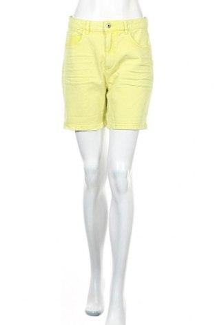 Γυναικείο κοντό παντελόνι Edc By Esprit, Μέγεθος M, Χρώμα Πράσινο, 98% βαμβάκι, 2% ελαστάνη, Τιμή 18,85€