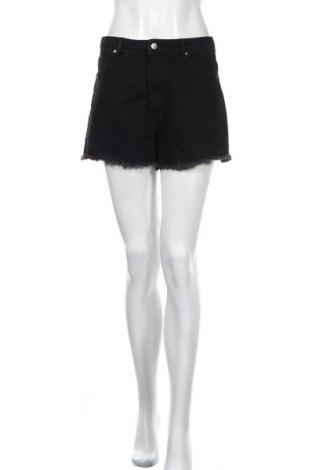 Γυναικείο κοντό παντελόνι Edited, Μέγεθος M, Χρώμα Μαύρο, 90% βαμβάκι, 10% πολυεστέρας, Τιμή 16,24€