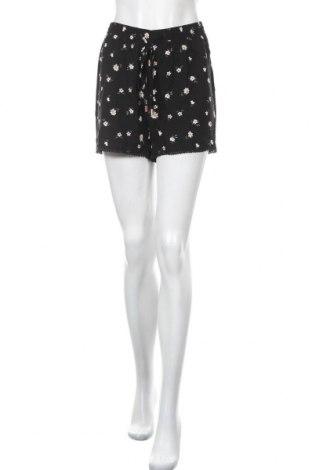 Γυναικείο κοντό παντελόνι Hailys, Μέγεθος L, Χρώμα Μαύρο, Βισκόζη, Τιμή 11,13€