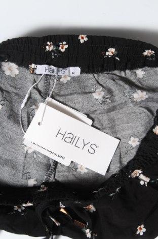 Γυναικείο κοντό παντελόνι Hailys, Μέγεθος S, Χρώμα Μαύρο, Βισκόζη, Τιμή 11,13€