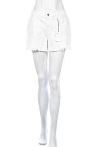 Γυναικείο κοντό παντελόνι Jacqueline De Yong, Μέγεθος M, Χρώμα Λευκό, 98% βαμβάκι, 2% ελαστάνη, Τιμή 13,61€
