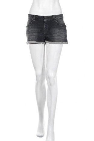 Γυναικείο κοντό παντελόνι Ltb, Μέγεθος M, Χρώμα Γκρί, 40% βαμβάκι, 28% βισκόζη, 25% lyocell, 5% πολυεστέρας, 2% ελαστάνη, Τιμή 16,12€