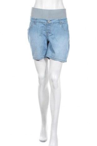 Γυναικείο κοντό παντελόνι Noppies, Μέγεθος XL, Χρώμα Μπλέ, 83% βαμβάκι, 15% πολυεστέρας, 2% ελαστάνη, Τιμή 21,65€
