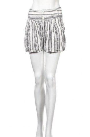 Γυναικείο κοντό παντελόνι ONLY, Μέγεθος S, Χρώμα Λευκό, 55% λινό, 45% βισκόζη, Τιμή 11,86€