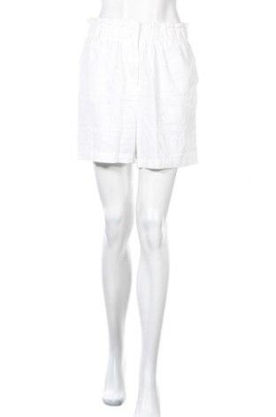 Γυναικείο κοντό παντελόνι Soya Concept, Μέγεθος M, Χρώμα Λευκό, 55% λινό, 45% βισκόζη, Τιμή 18,14€