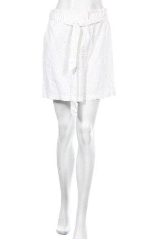 Γυναικείο κοντό παντελόνι Soya Concept, Μέγεθος XL, Χρώμα Λευκό, 55% λινό, 45% βισκόζη, Τιμή 17,79€
