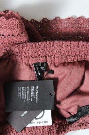 Γυναικείο κοντό παντελόνι Vero Moda, Μέγεθος L, Χρώμα Ρόζ , 75% βαμβάκι, 25% πολυαμίδη, Τιμή 13,89€