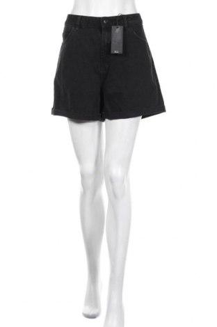 Γυναικείο κοντό παντελόνι Vero Moda, Μέγεθος L, Χρώμα Μαύρο, Βαμβάκι, Τιμή 13,89€