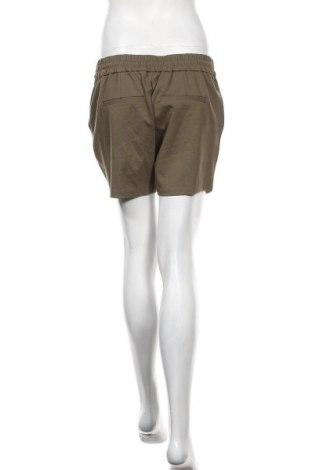 Γυναικείο κοντό παντελόνι Vero Moda, Μέγεθος M, Χρώμα Πράσινο, 65% βισκόζη, 30% πολυαμίδη, 5% ελαστάνη, Τιμή 12,47€