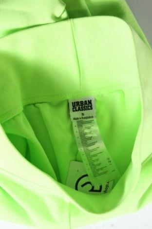 Дамски клин Urban Classics, Размер S, Цвят Зелен, 95% памук, 5% еластан, Цена 25,60лв.