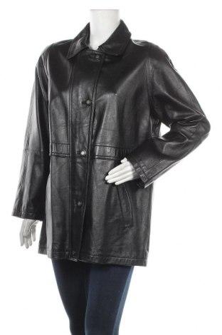 Дамски кожен шлифер Your Sixth Sense, Размер L, Цвят Черен, Естествена кожа, Цена 78,75лв.