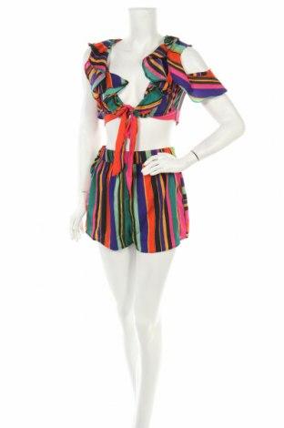 Дамски комплект Boohoo, Размер XS, Цвят Многоцветен, Полиестер, Цена 39,79лв.