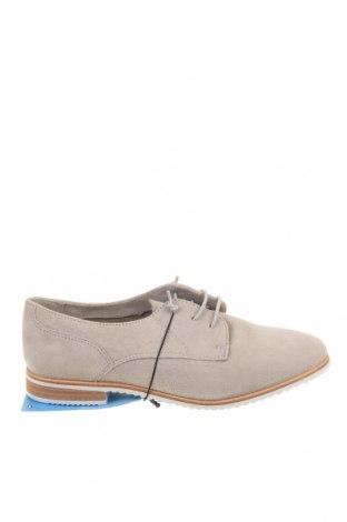 Γυναικεία παπούτσια Bata, Μέγεθος 36, Χρώμα Γκρί, Φυσικό σουέτ, Τιμή 29,44€