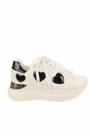 Γυναικεία παπούτσια Braccialini, Μέγεθος 38, Χρώμα Λευκό, Δερματίνη, Τιμή 79,02€