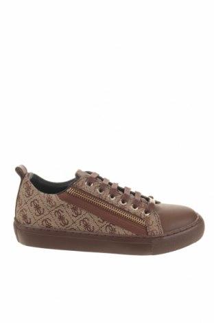 Γυναικεία παπούτσια Guess, Μέγεθος 33, Χρώμα  Μπέζ, Κλωστοϋφαντουργικά προϊόντα, δερματίνη, Τιμή 52,30€
