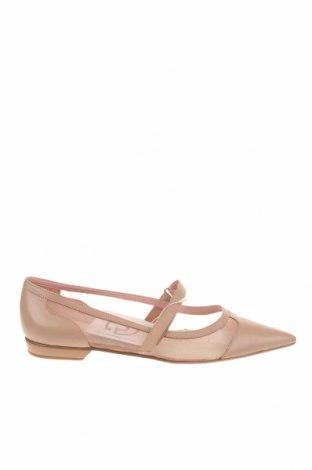 Γυναικεία παπούτσια Nine West, Μέγεθος 38, Χρώμα Ρόζ , Γνήσιο δέρμα, κλωστοϋφαντουργικά προϊόντα, Τιμή 41,29€