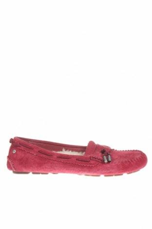 Dámské boty  Ugg Australia, Velikost 38, Barva Červená, Přírodní velur , Cena  1078,00Kč