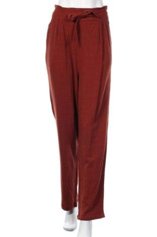 Дамски панталон About You, Размер L, Цвят Кафяв, 94% вискоза, 6% лен, Цена 34,50лв.