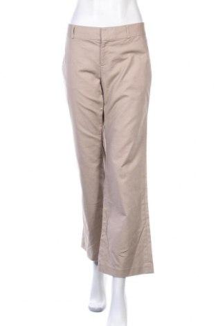 Γυναικείο παντελόνι Banana Republic, Μέγεθος L, Χρώμα  Μπέζ, 97% βαμβάκι, 3% ελαστάνη, Τιμή 8,18€