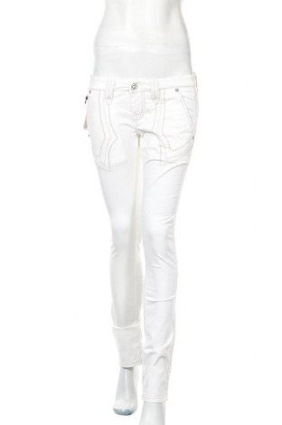 Дамски панталон Bandits Du Monde, Размер S, Цвят Бял, 97% памук, 3% еластан, Цена 3,00лв.