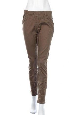 Дамски панталон Blue Motion, Размер S, Цвят Кафяв, 98% памук, 2% еластан, Цена 6,83лв.