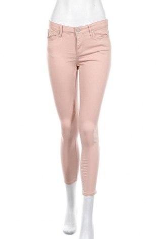 Дамски панталон Calvin Klein, Размер S, Цвят Розов, 97% памук, 3% еластан, Цена 41,06лв.