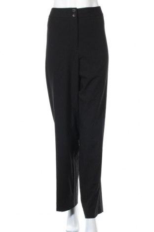 Дамски панталон Calvin Klein, Размер XXL, Цвят Черен, 63% полиестер, 32% вискоза, 5% еластан, Цена 33,92лв.