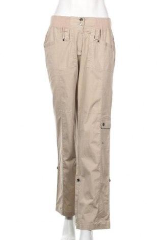 Дамски панталон Capture, Размер M, Цвят Бежов, Памук, Цена 6,55лв.