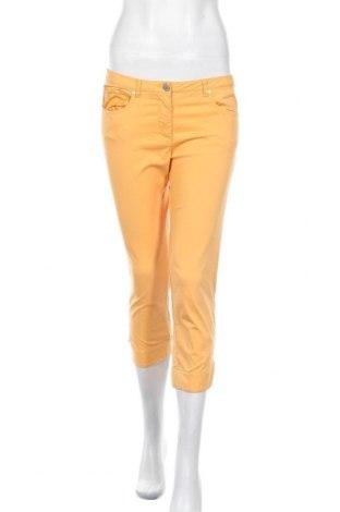 Дамски панталон Chervo, Размер M, Цвят Жълт, 56% памук, 40% полиамид, 4% еластан, Цена 24,00лв.