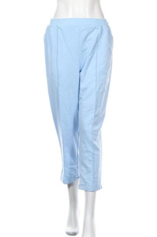 Γυναικείο παντελόνι Damart, Μέγεθος L, Χρώμα Μπλέ, 74% πολυεστέρας, 19% βαμβάκι, 7% ελαστάνη, Τιμή 24,55€