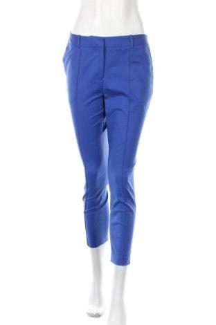 Дамски панталон David Lawrence, Размер M, Цвят Син, 97% памук, 3% еластан, Цена 65,10лв.