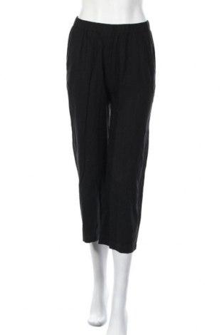Дамски панталон Edited, Размер S, Цвят Черен, 85% вискоза, 15% лен, Цена 28,00лв.