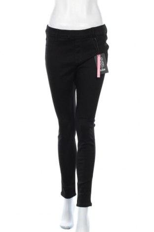 Дамски панталон Even&Odd, Размер XL, Цвят Черен, 71% памук, 28% полиестер, 1% еластан, Цена 21,42лв.