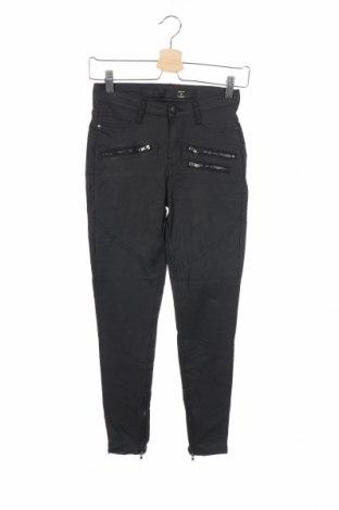 Дамски панталон Factorie, Размер XS, Цвят Черен, 74% вискоза, 23% полиамид, 3% еластан, Цена 6,83лв.