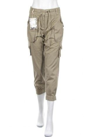 Γυναικείο παντελόνι Henry Cotton's, Μέγεθος L, Χρώμα Πράσινο, 98% βαμβάκι, 2% ελαστάνη, Τιμή 18,50€