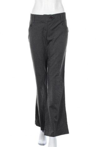 Дамски панталон Hot Options, Размер M, Цвят Сив, Полиестер, вискоза, еластан, Цена 8,94лв.