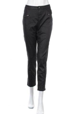 Γυναικείο παντελόνι Katies, Μέγεθος L, Χρώμα Μαύρο, 72% βαμβάκι, 26% πολυεστέρας, 2% ελαστάνη, Τιμή 14,94€