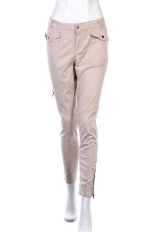 Γυναικείο παντελόνι Katies, Μέγεθος M, Χρώμα  Μπέζ, Βαμβάκι, πολυεστέρας, ελαστάνη, Τιμή 15,43€