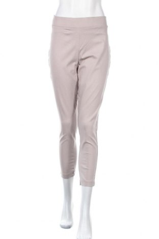 Γυναικείο παντελόνι Katies, Μέγεθος L, Χρώμα  Μπέζ, 76% βισκόζη, 21% πολυαμίδη, 3% ελαστάνη, Τιμή 12,15€