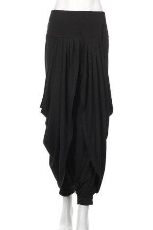Γυναικείο παντελόνι Kays, Μέγεθος L, Χρώμα Μαύρο, 95% πολυεστέρας, 5% ελαστάνη, Τιμή 17,54€