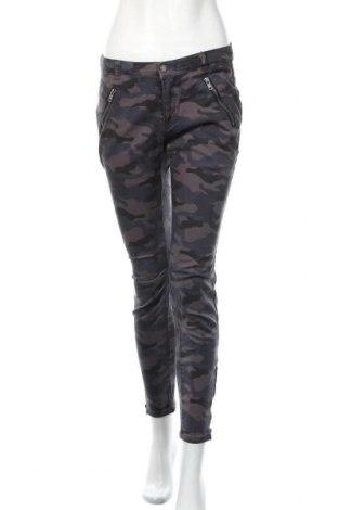 Дамски панталон Laura Scott, Размер S, Цвят Многоцветен, 97% памук, 3% еластан, Цена 26,93лв.