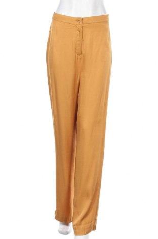 Дамски панталон LeGer By Lena Gercke, Размер M, Цвят Жълт, 100% вискоза, Цена 51,75лв.