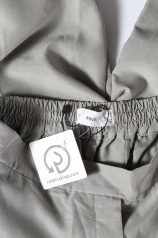 Дамски панталон Mango, Размер S, Цвят Зелен, 70% модал, 30% полиестер, Цена 21,28лв.