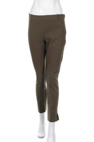 Дамски панталон Mango, Размер M, Цвят Зелен, 87% полиестер, 13% еластан, Цена 18,62лв.