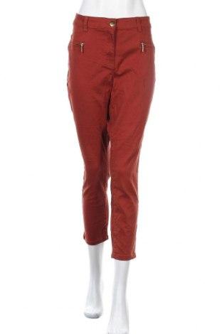 Дамски панталон Millers, Размер L, Цвят Кафяв, 70% памук, 28% полиестер, 2% еластан, Цена 21,26лв.