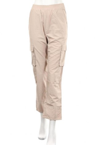 Дамски панталон Missguided, Размер XS, Цвят Бежов, Полиестер, Цена 10,56лв.