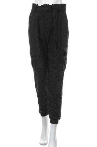 Дамски панталон ONLY, Размер S, Цвят Черен, Памук, Цена 19,20лв.