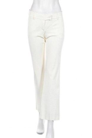 Дамски панталон Pietro Filipi, Размер XS, Цвят Екрю, 48% вискоза, 48% ацетат, 4% еластан, Цена 8,13лв.