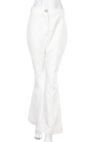 Дамски панталон River Island, Размер M, Цвят Бял, 93% полиестер, 7% еластан, Цена 44,85лв.